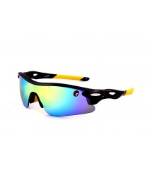 Omtex Flash Yellow Sports Sunglasses 06